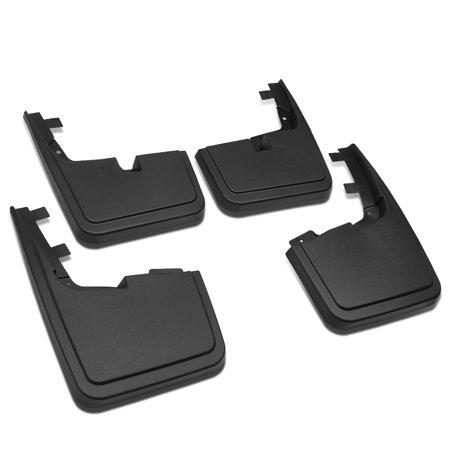 For 2015 to 2018 Ford F150 w / o OE Wheel Lip Moulding Front+Rear 4Pcs Mud Guard Splash Flap Kit