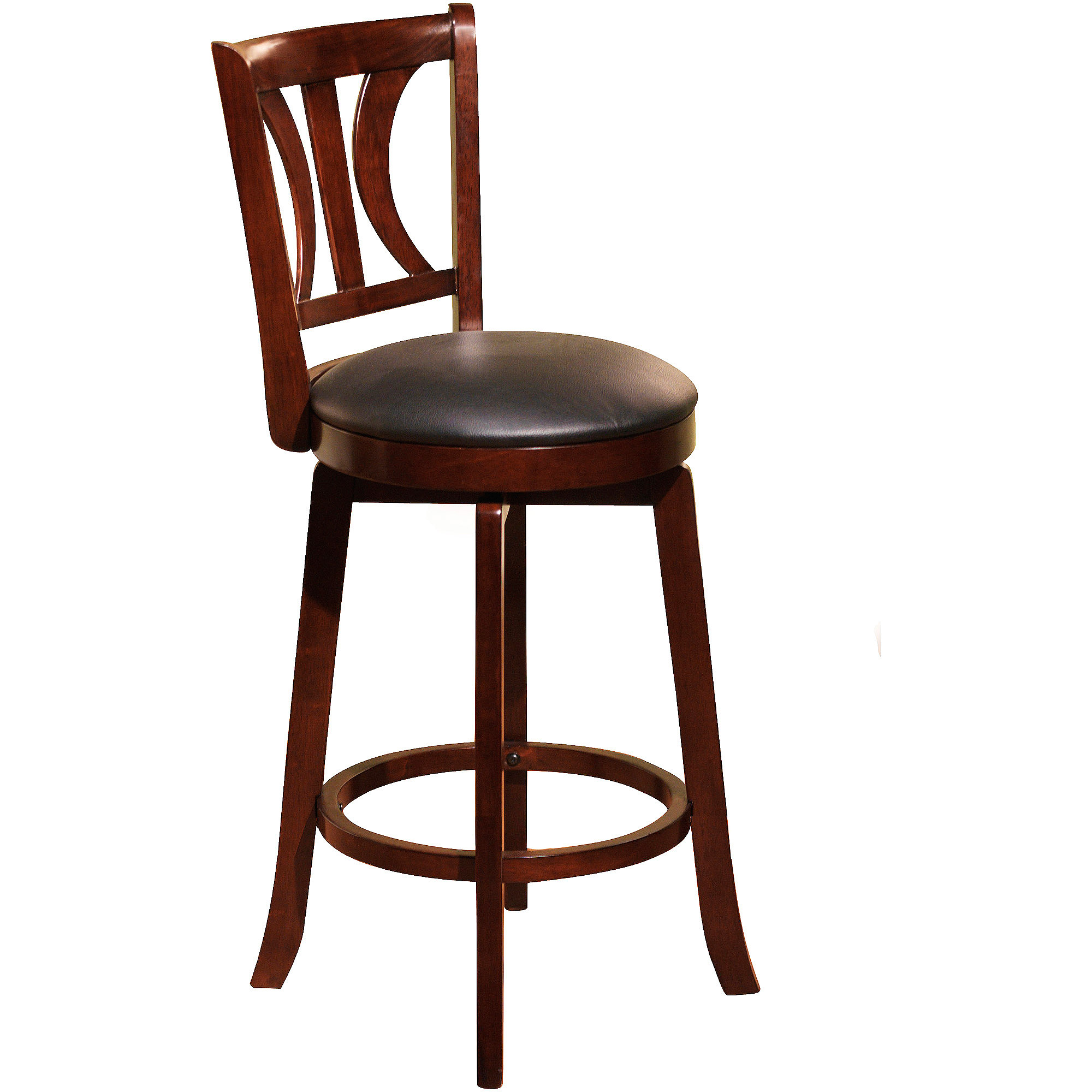 Houston 24 Swivel Counter Height Stool Multiple Colors