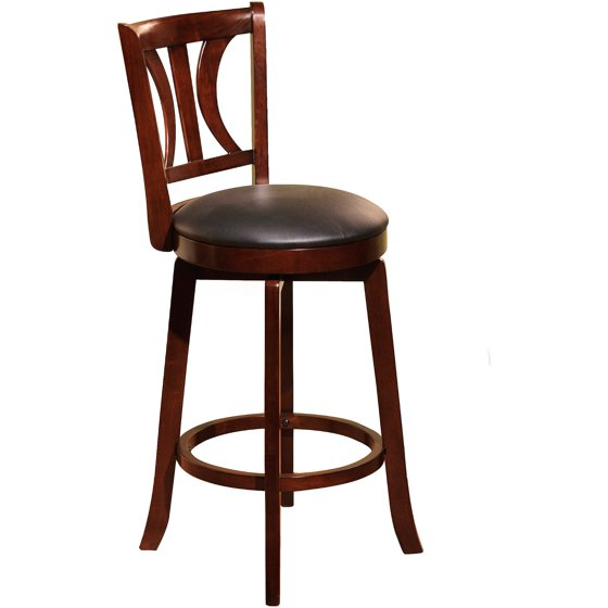 Bar Stools 24 Counter Height: Houston 24'' Swivel Counter Height Stool, Multiple Colors
