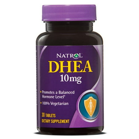 Natrol DHEA 10mg Tablets, 30 Ct