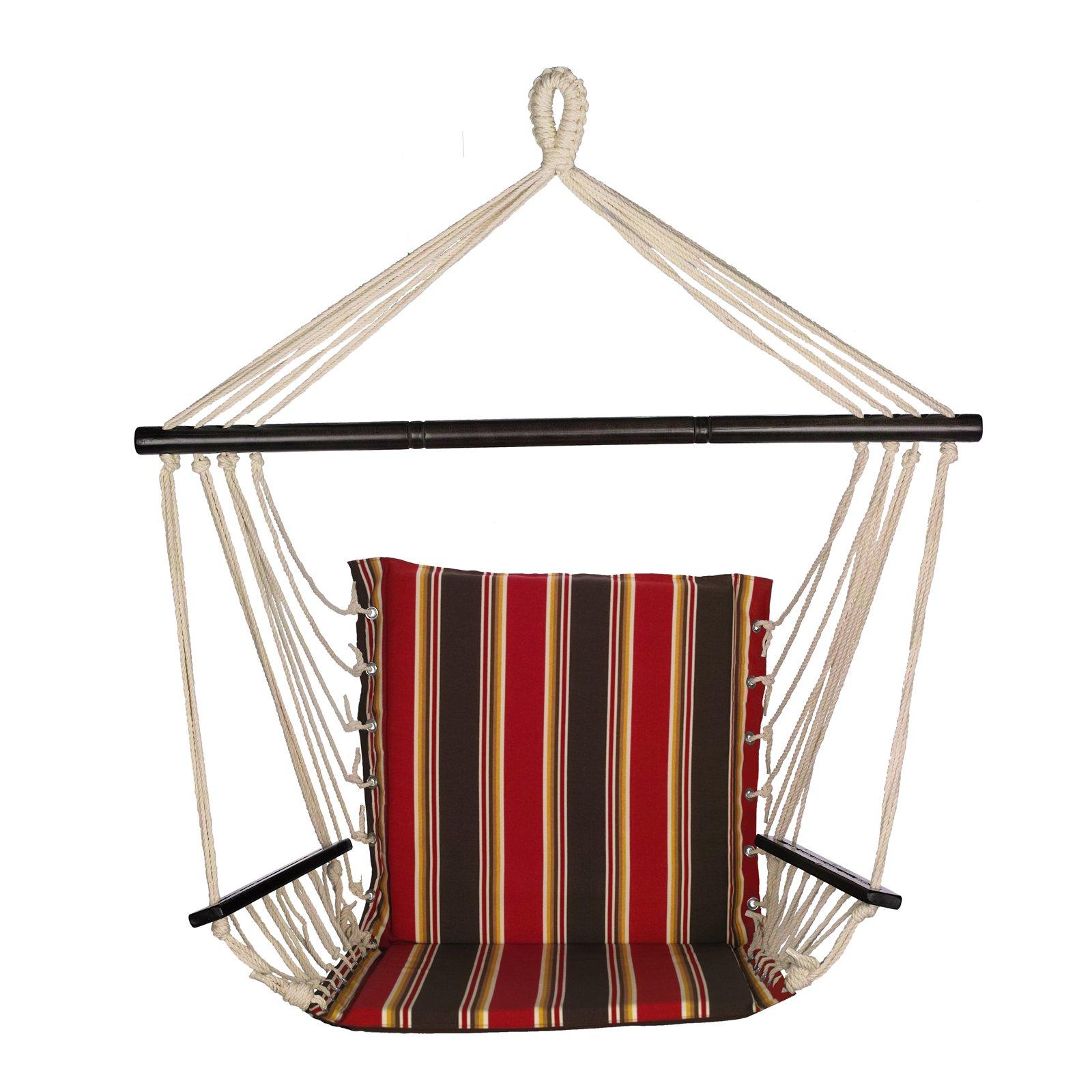 Bliss Hammocks Metro Striped Hammock Chair
