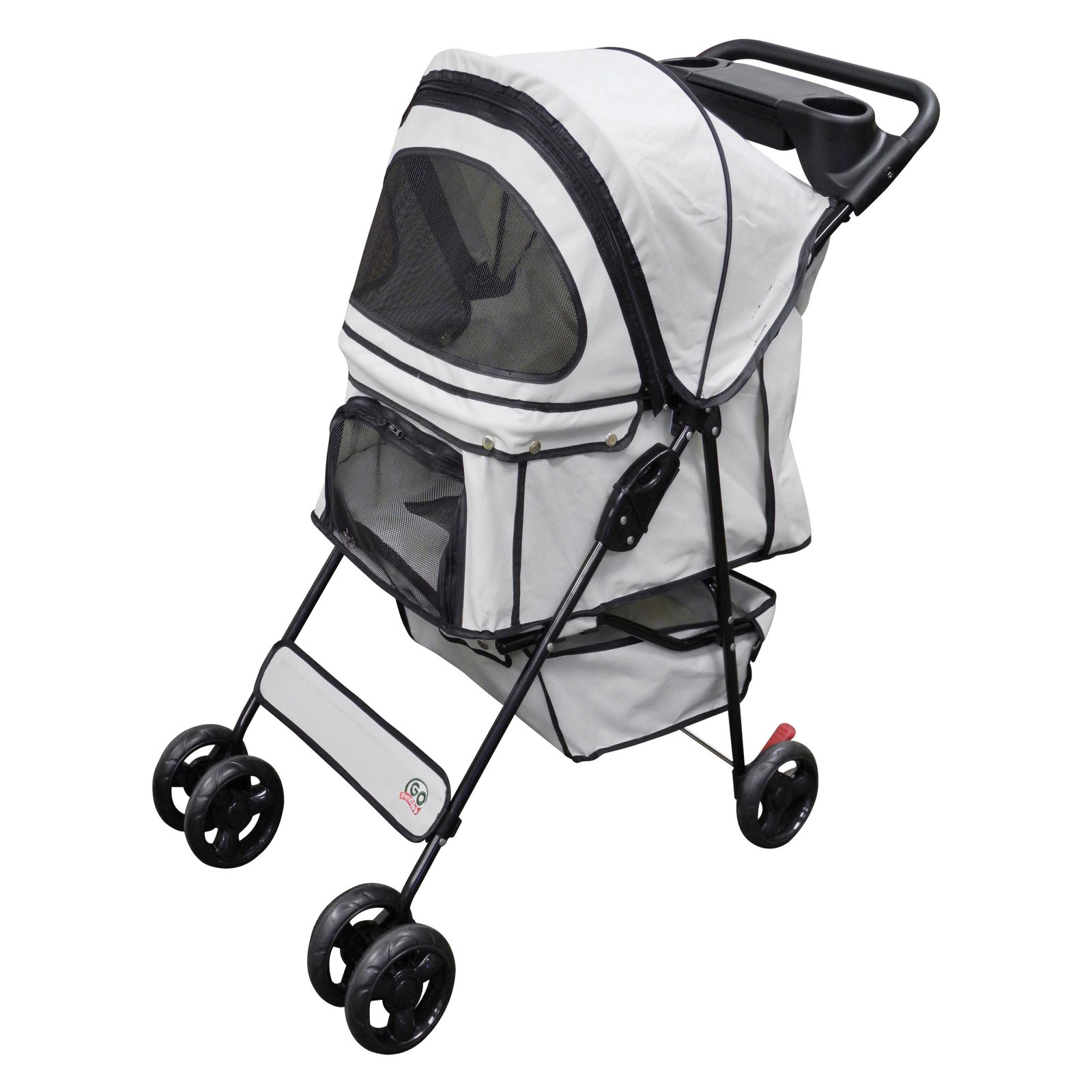 Go Pet Club Pet Stroller in Beige - PS003