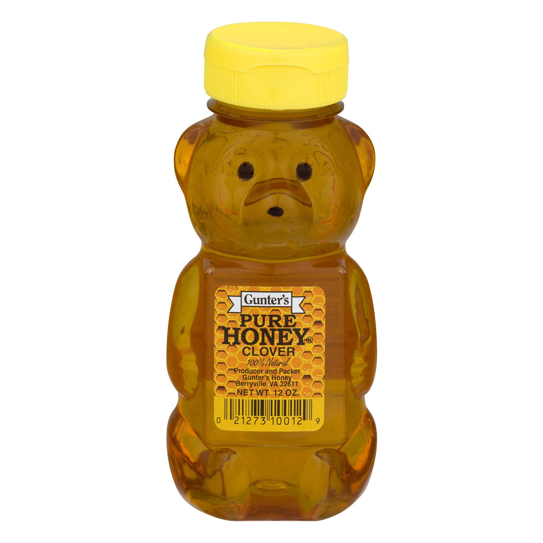 (3 Pack) Gunter's Pure Honey Clover, 12.0 OZ
