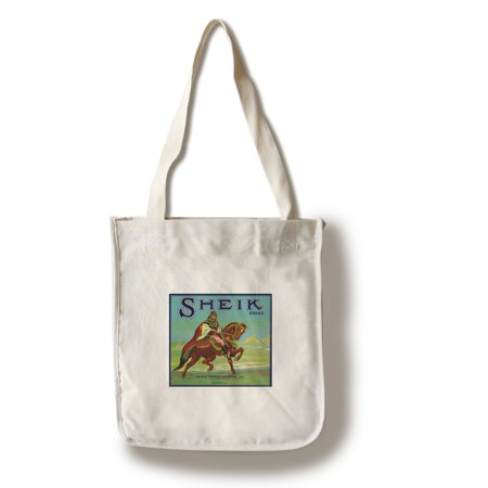 Colton, California - Sheik Brand Citrus Label (100% Cotton Tote Bag - Reusable)