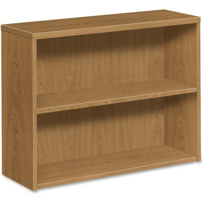 HON 10500 Srs Harvest Lam. Fixed Shelves Bookcase HON105532CC