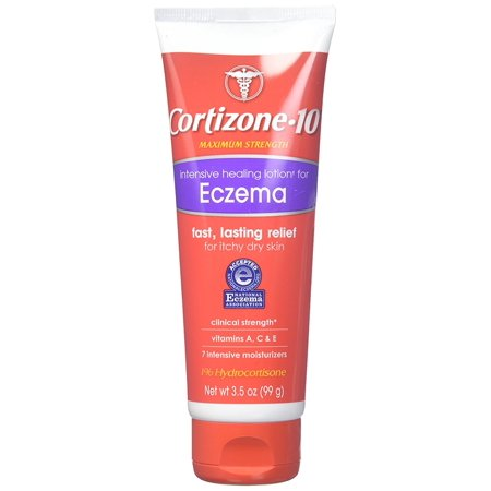 Cortizone 10 Maximum Strength Intensive Healing Eczema Lotion Hydrocortisone 1   3 5Oz