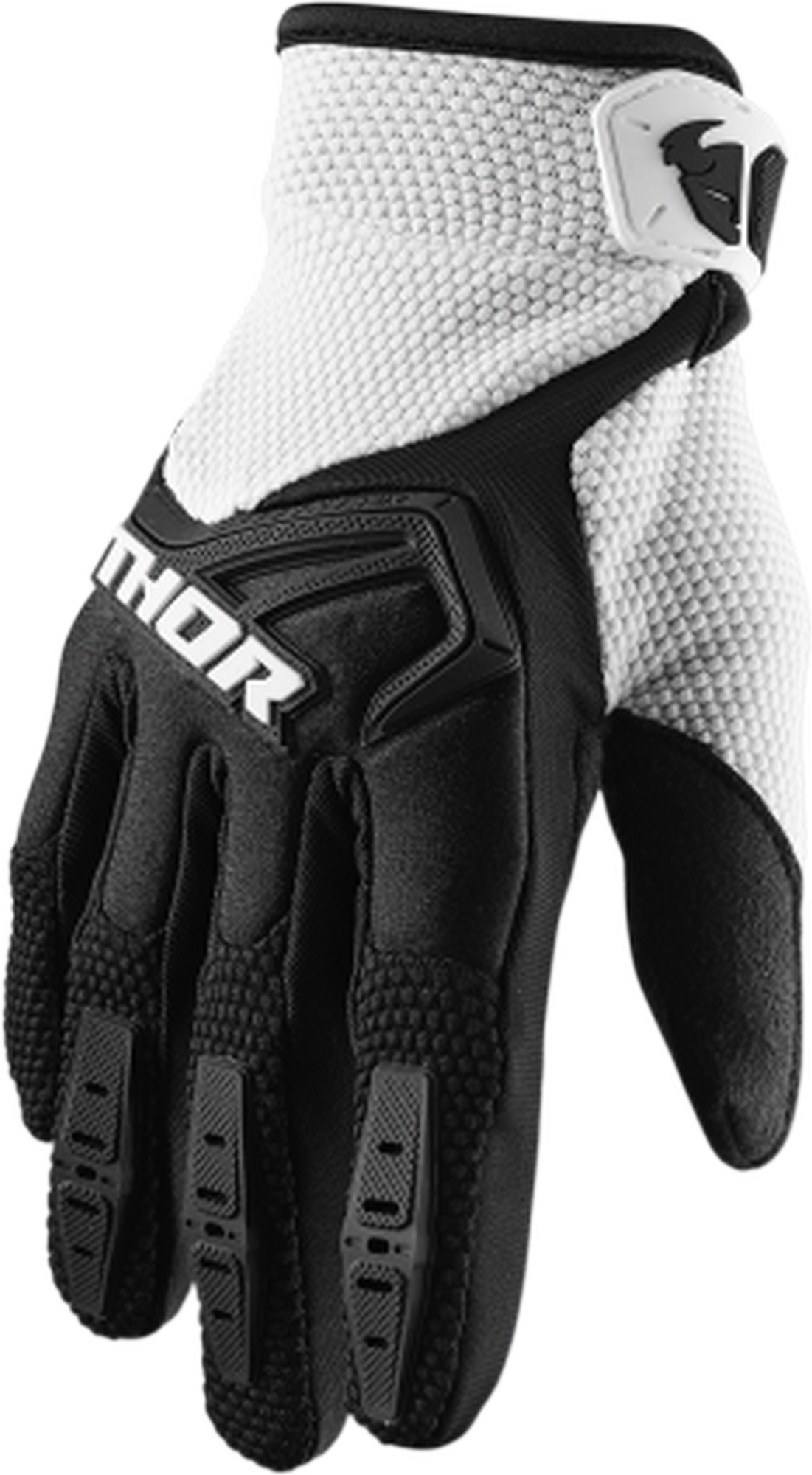 Black MED Castle X Mission Mens Snowmobile Gloves