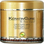 Keratin Cure Chocolate Deep Masque Revitalizing Hair Repair 500g/17floz
