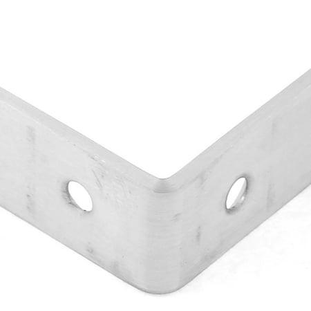 Furniture Shelf 80x80x20mm 90 Degree Angle Brackets Corner Braces Supports  3pcs