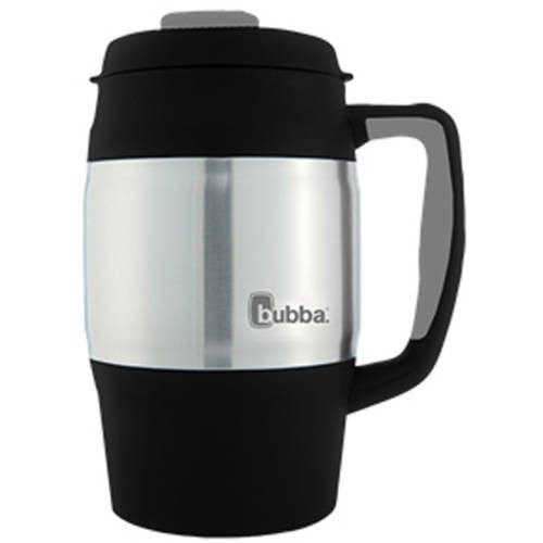 Bubba 34 Ounce Classic Insulated Black Insulated Travel Mug, 1 Each