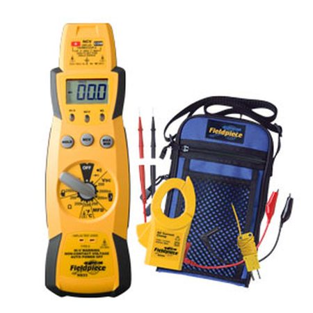 Fieldpiece HS33 Manual Ranging Digital Multimeter