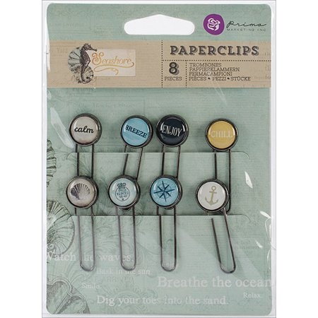 Seashore Typewriter Key Paper Clips, 2