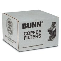 Bunn 250 Count 12 Cup Commercial Paper Coffee Filters Uses Strong Heav 2pk