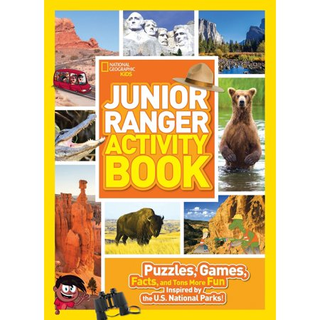 Junior Ranger Activity Book : Puzzles, Games, Facts, and Tons More Fun Inspired by the U.S. National Parks!](Halloween History Fun Facts)