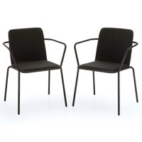 MoDRN Scandinavian Heidi Dining Chairs, Set of 2