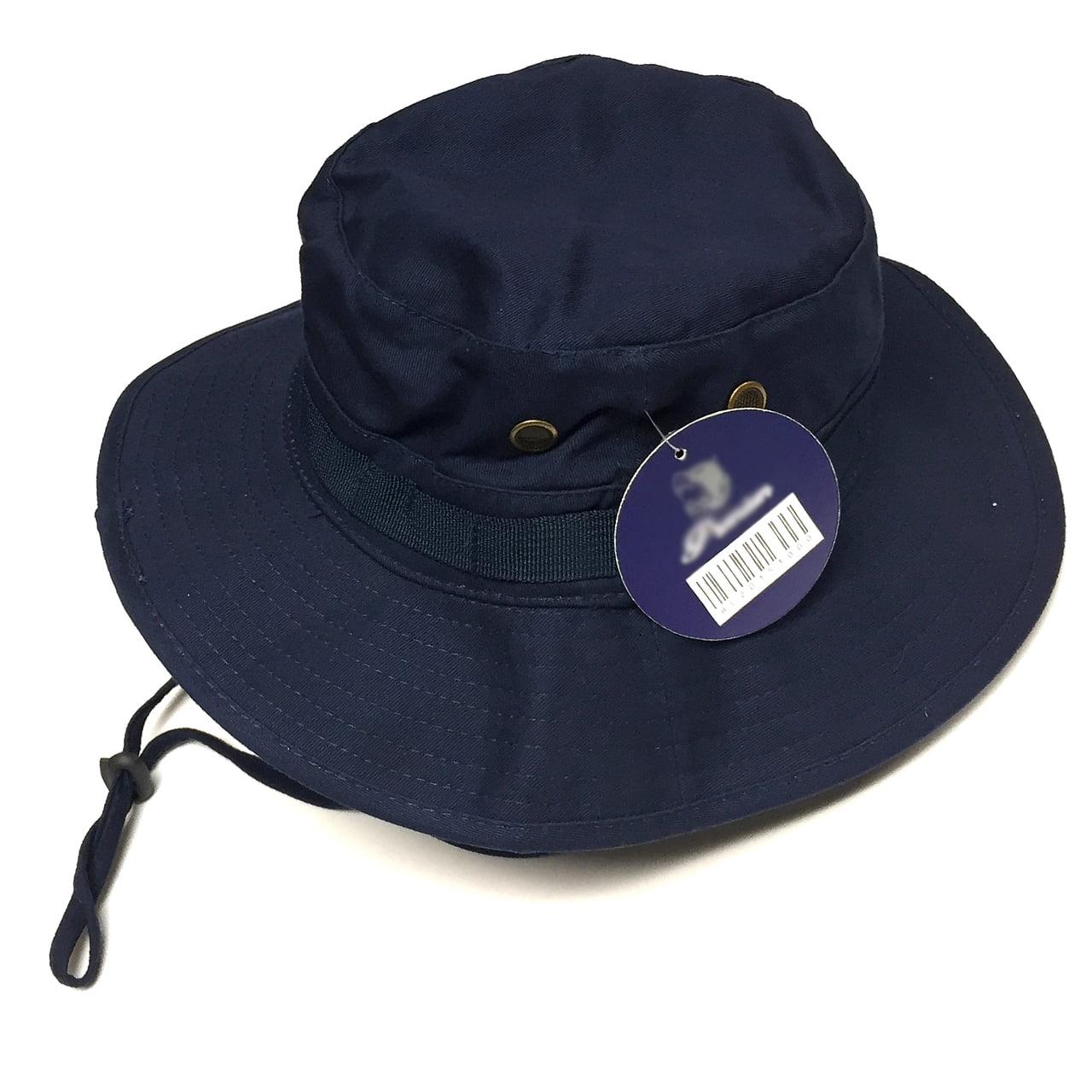 bec022226fd Pit Bull - Men  s Boonie Bucket Hat Wide Brim Outdoor Camping Fishing Cap  Navy Blue - Walmart.com