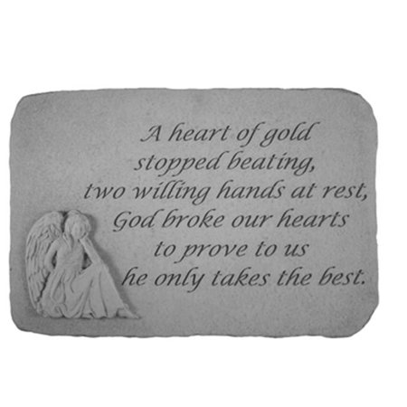 Kay Berry 22820 Angel Stones - A Heart of Gold