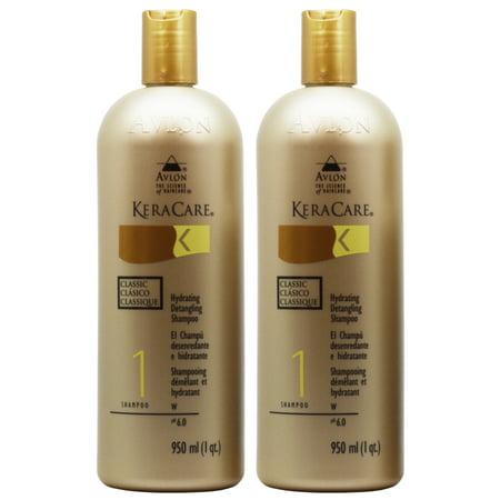 Hydrating Detangling Shampoo - Avlon Keracare Hydrating Detangling Shampoo 32oz
