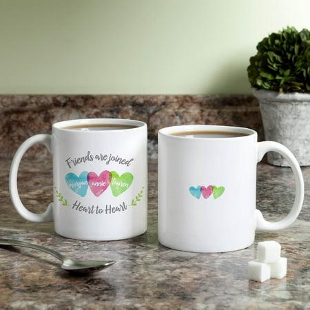 Three Friends Personalized Mug ()