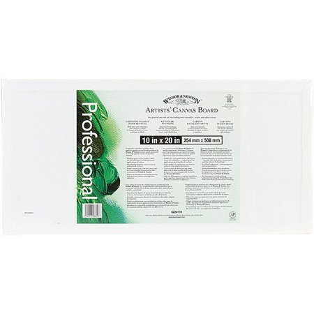 - Artists' Quality Canvas Board, 10