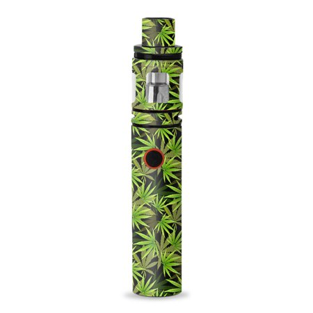 Skin Decal for Smok Stick V8 Pen Vape / weed pot skunk high