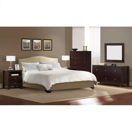Lifestyle Solutions Magnolia 5 Piece Platform Bedroom Set
