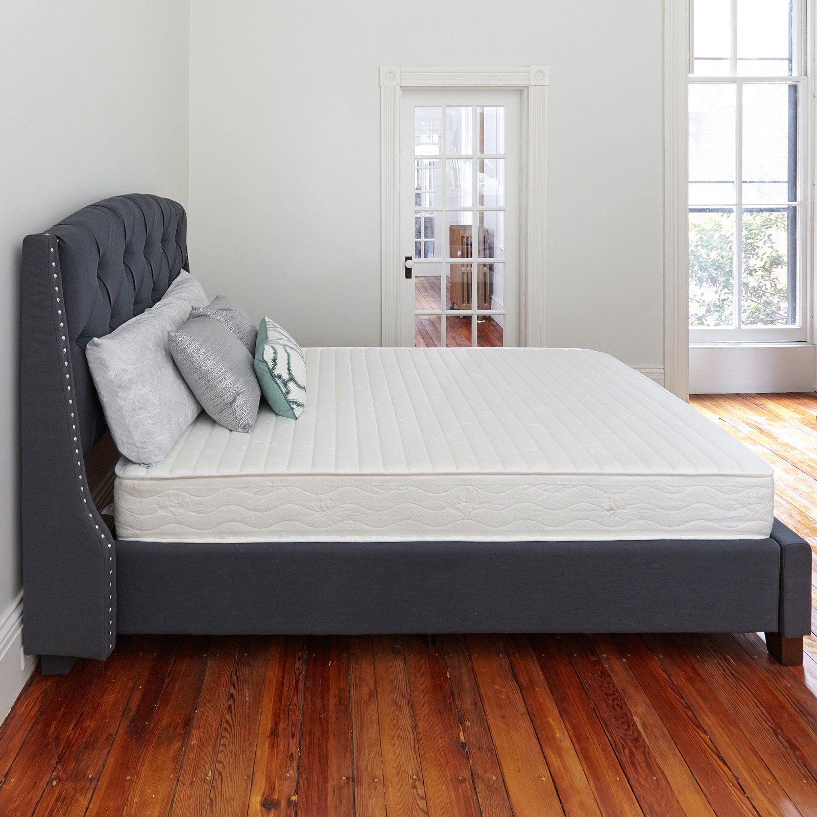 Classic Brands Advantage 8 in. Plush Innerspring Mattress