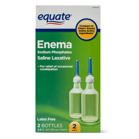 Saline Solution2 Rectal Equate Laxative Enema Phosphates Ct Sodium n0PkOw