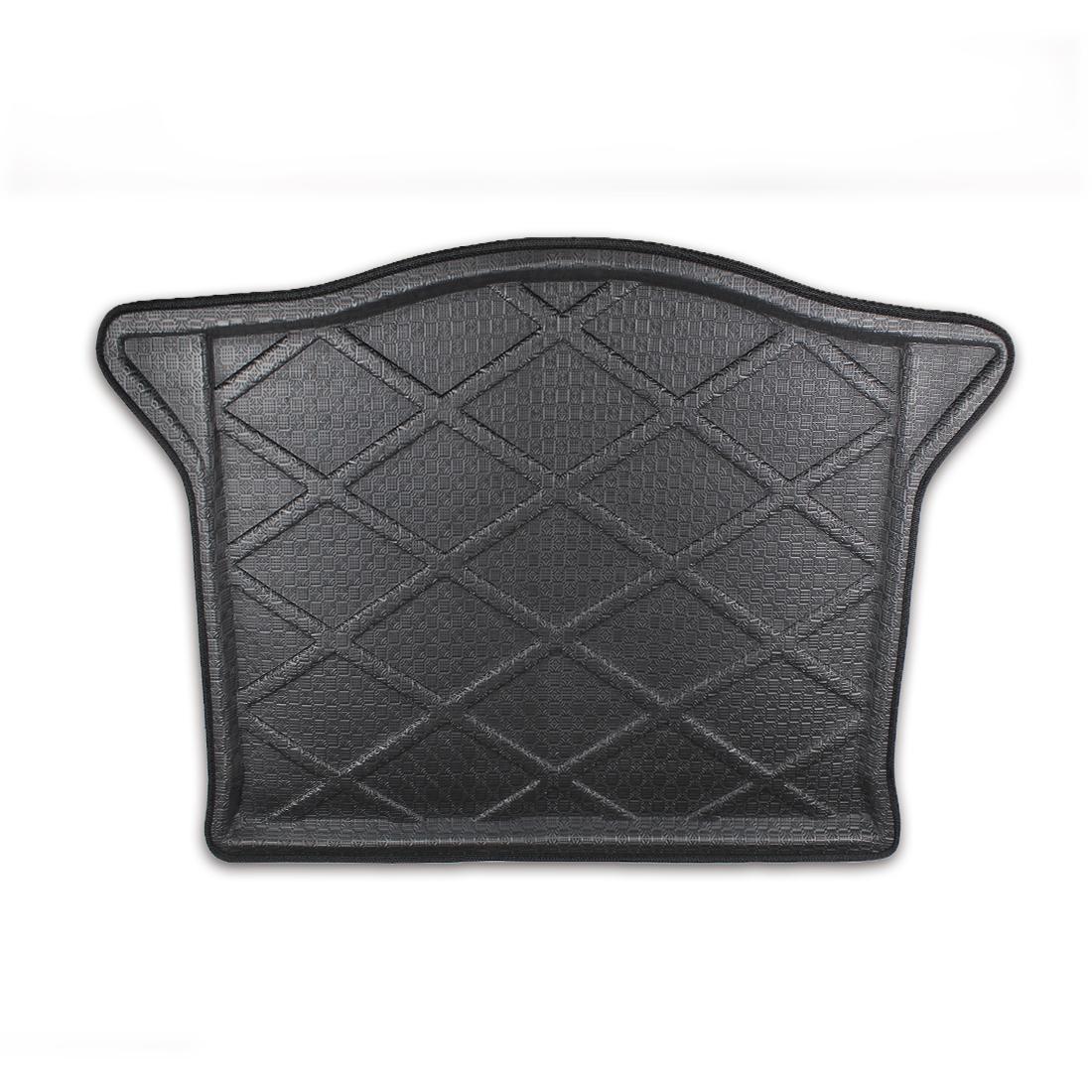 Black Rubber Cargo Floor Mat Waterproof For Honda Fit Jazz 08 15 Image 1 Zoomed