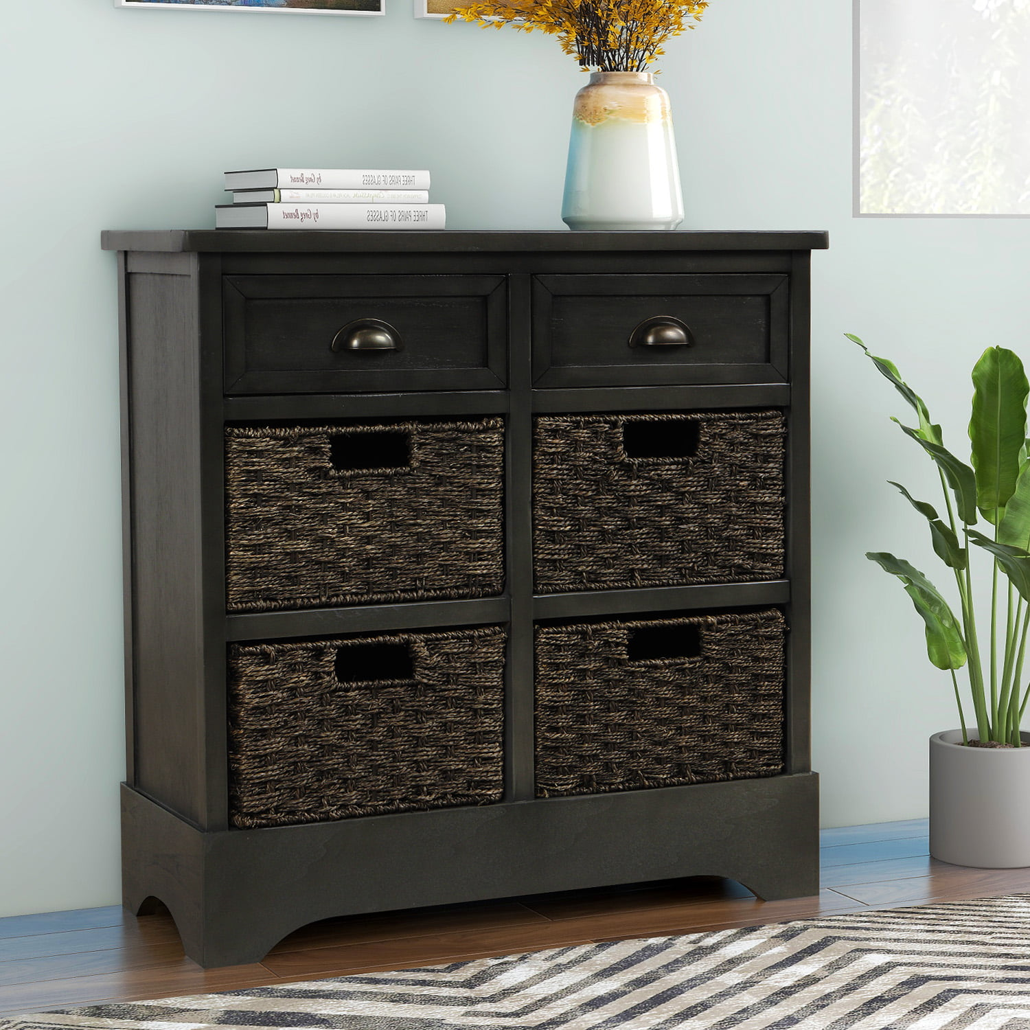 """jumper 28"""" storage cabinet rustic accent cabinet w two"""