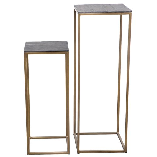 Foundry Select Bellino 2 Piece Plant Stand Set