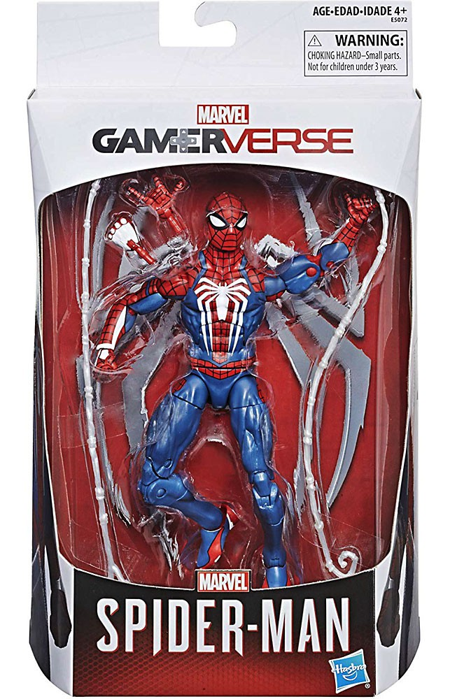 PS4 Video Game Marvel Select Spider-Man Action Figure