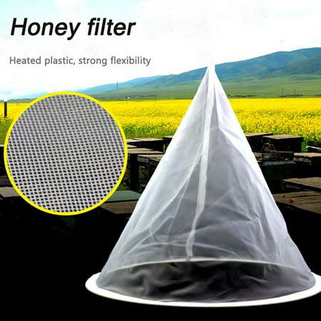 Iuhan Beekeeping Honey Strainer Filter Net Honey Strainer HoneyTools Honey Bucket ()