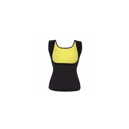 4fa106a11b4b6 Bolkopess Neoprene Slimming Body Shaper for Women Hot Sweat Sauna Vest Tank  Top Weight Loss Shapewear Waist Trainer Suit Belly Fat Burner Black -  Walmart. ...