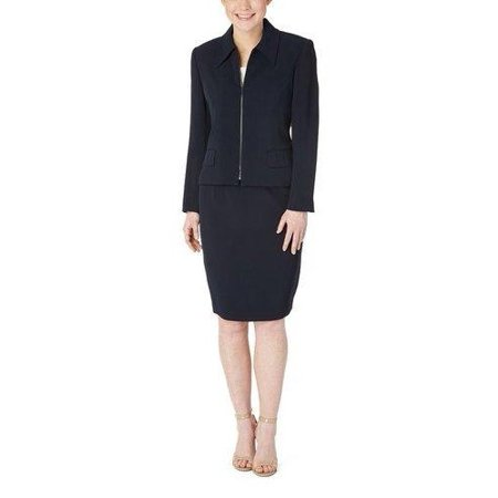 Petite Zip Jacket with Skirt (Style# 50400S7)