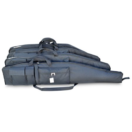 Explorer Floating Hunting Case Shotgun Soft Rifle Case with Heavy Duty Water Resistant Zipper - 44