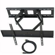 """VideoSecu Tilt Swivel Full Motion TV Wall Mount Dual Arm Bracket for Sony Bravia 32 39 40 42 43 46 49 50 55 60"""" LED LCD Plasma XBR-49X800E XBR-49X900E XBR-55A1E XBR-55X800E XBR-55X900E XBR-55X930D BK7"""