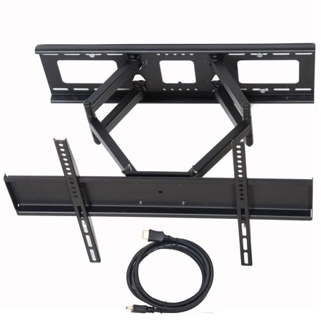 VideoSecu Tilt Swivel Full Motion TV Wall Mount Dual Arm Bracket for Sony Bravia 32 39 40 42 43 46 49 50 55 60