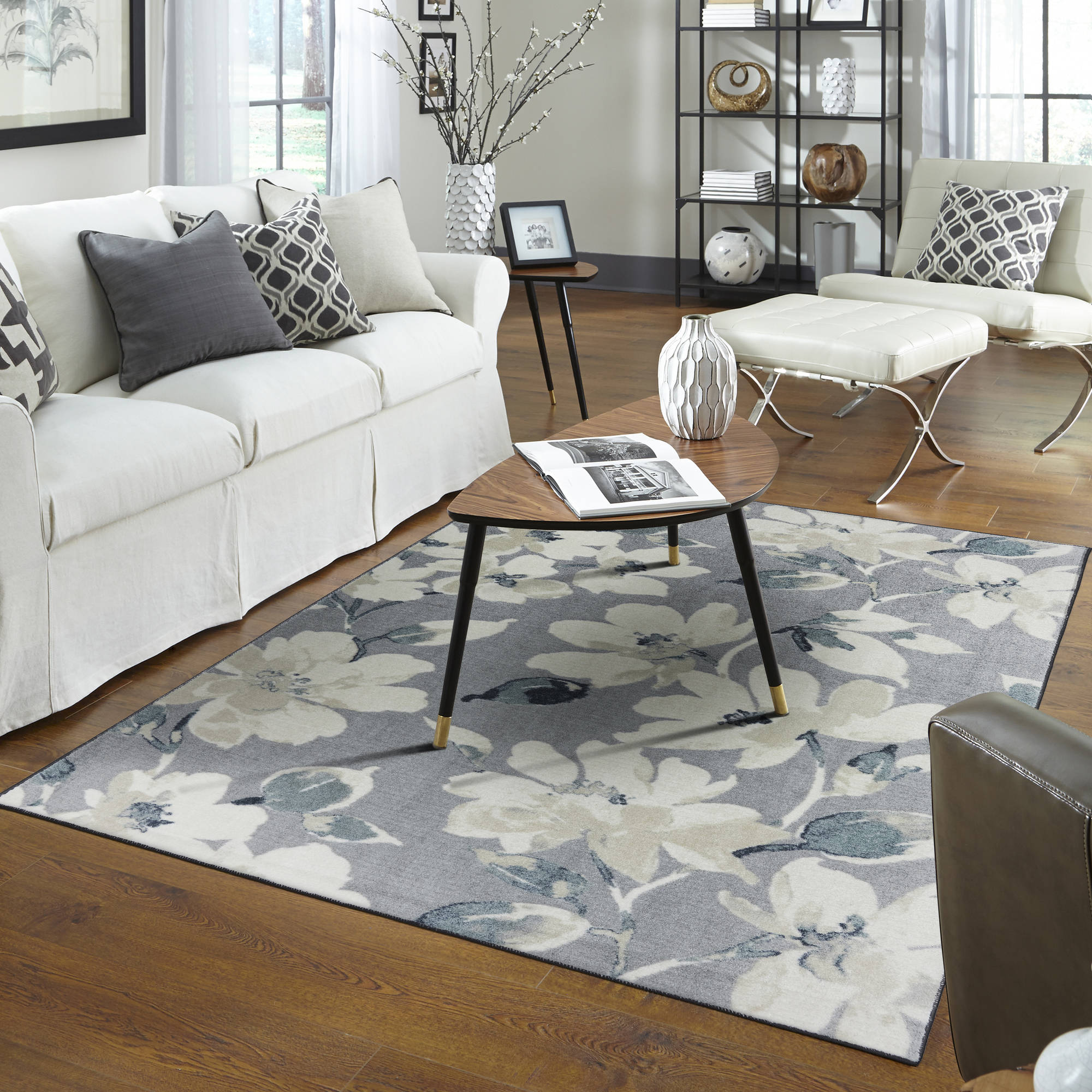 Mohawk Home Belle Epoque Printed Nylon Area Rug