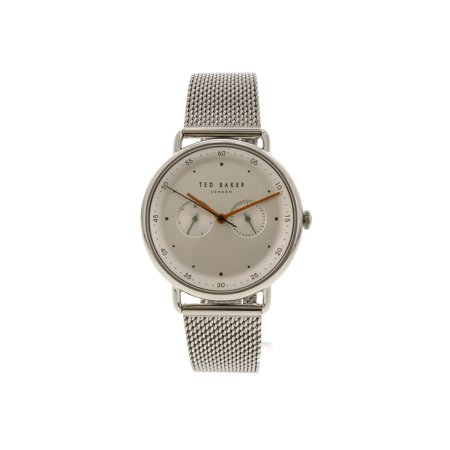 Ted Baker Men's George TE50520007 Silver Stainless-Steel Japanese Quartz Fashion Watch