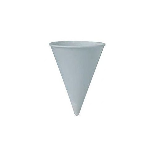 Solo Cups Paper Cone Water Cups - cup water paper 4 oz.5000/cs