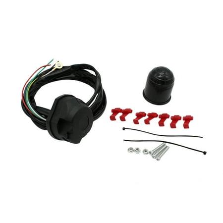 7-Way Trailer Connector Plug Light Wiring Harness Extension (7 Way Semi Trailer Plug Wiring Diagram)