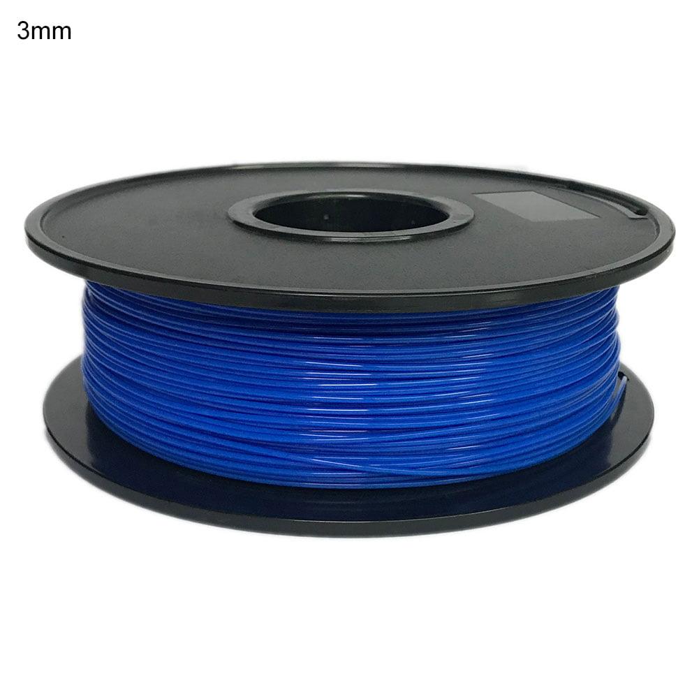 Premium 3D Printer Filament PETG 3mm, 1kg/Spool,White