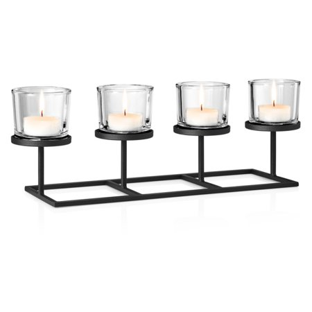 Blomus Deco Tealight Candle Holder with Rectangular Base ()