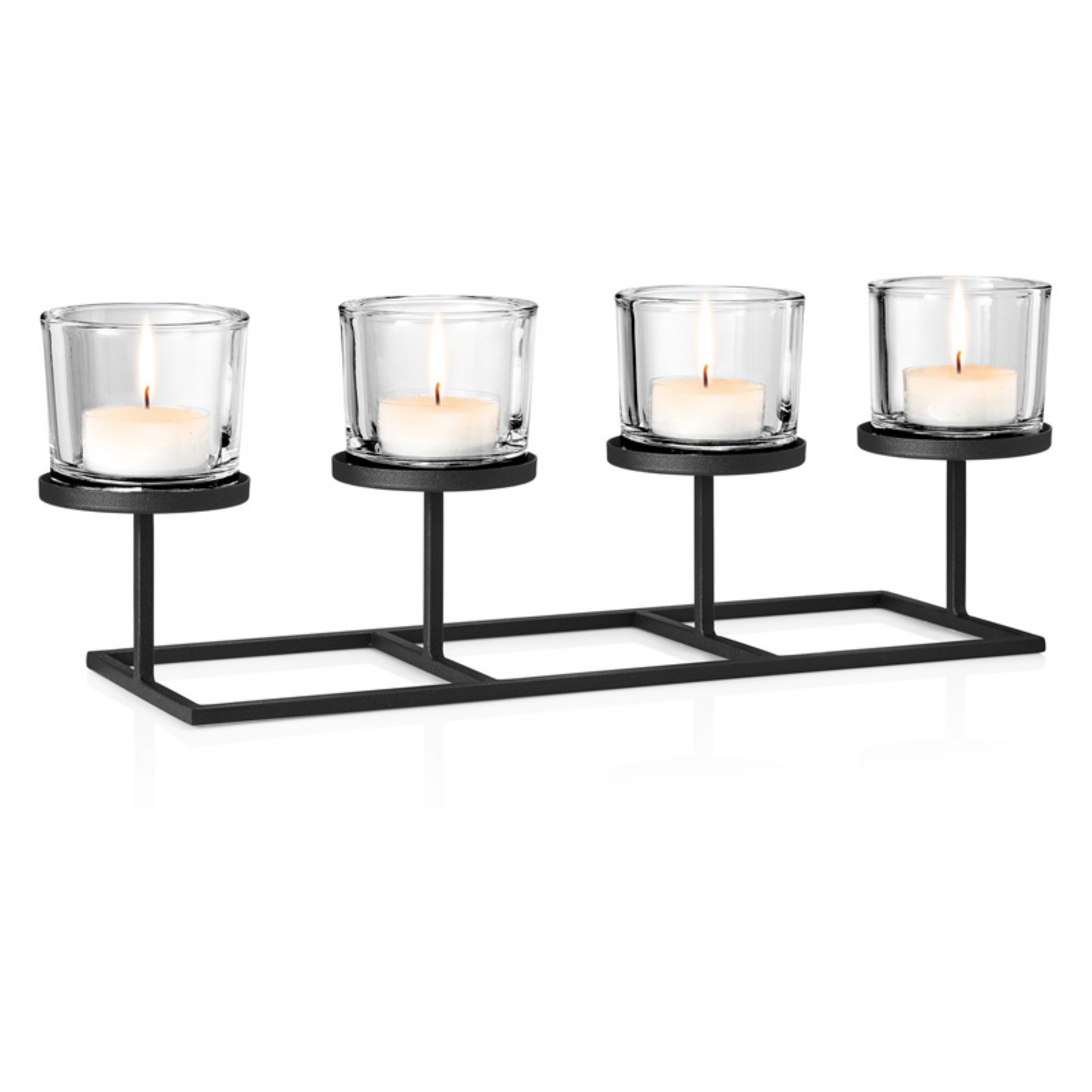 Blomus Deco Tealight Candle Holder with Rectangular Base