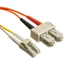 Fiber Optic Cable, LC / SC, Multimode, Duplex, 50/125, 20 meter (65.6 foot)