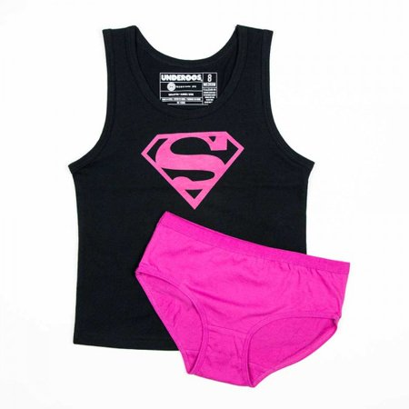 Supergirl Girl's Tank/Underwear Underoos Set