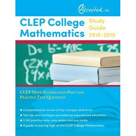 CLEP Test Prep Books - Walmart.com
