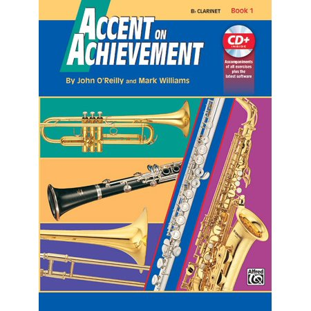 B-flat Clarinet Music Book - Accent on Achievement, Bk 1: B-Flat Clarinet, Book & CD (Paperback)