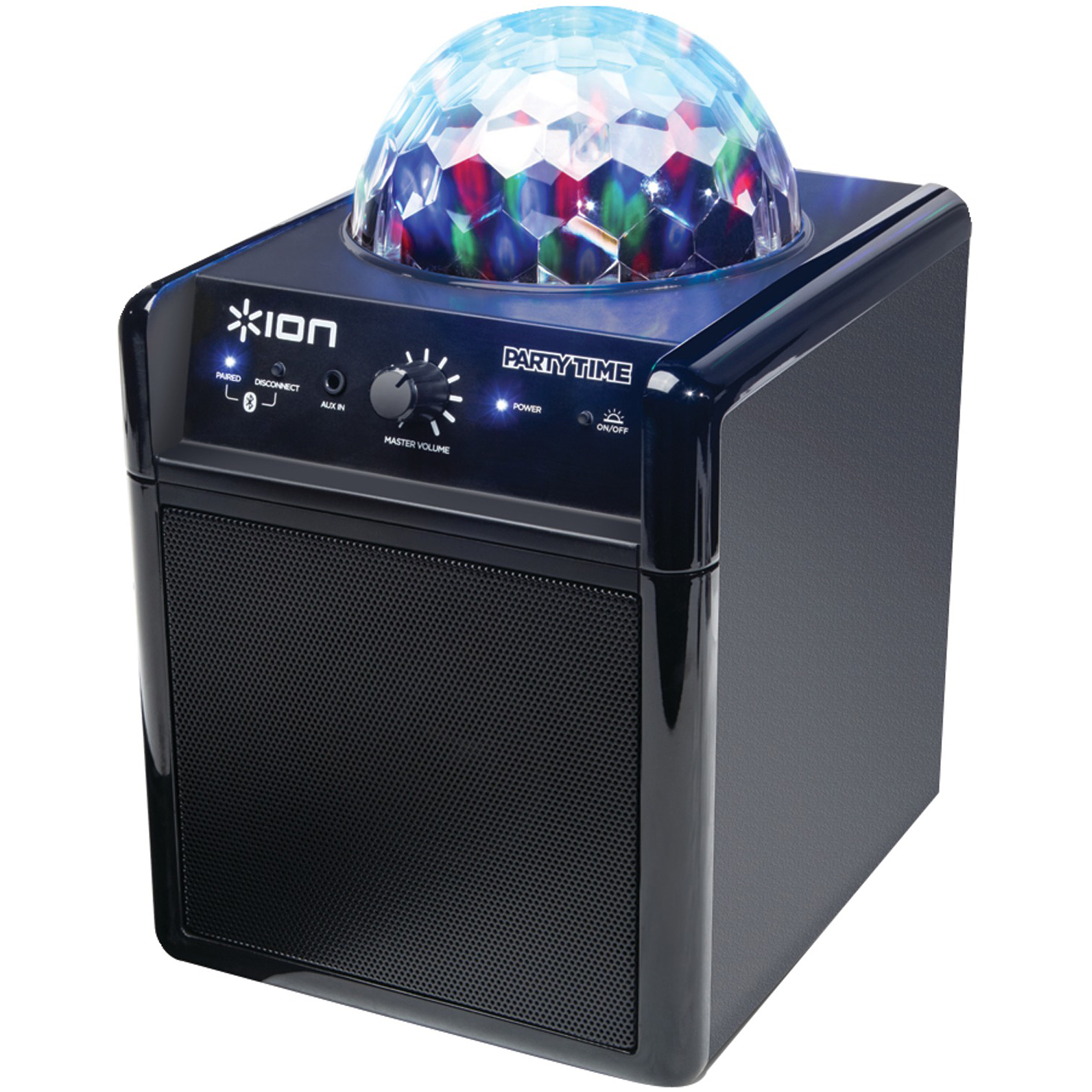ION IPA19 Party Time Lighting and Wireless Speaker System